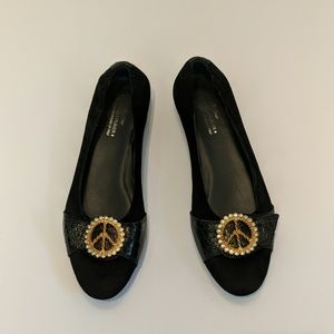 Donald J. Pliner black made in Italy size 10m